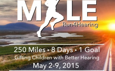 JUSTIN OSMOND'S 250 MILE RUN 4 HEARING!