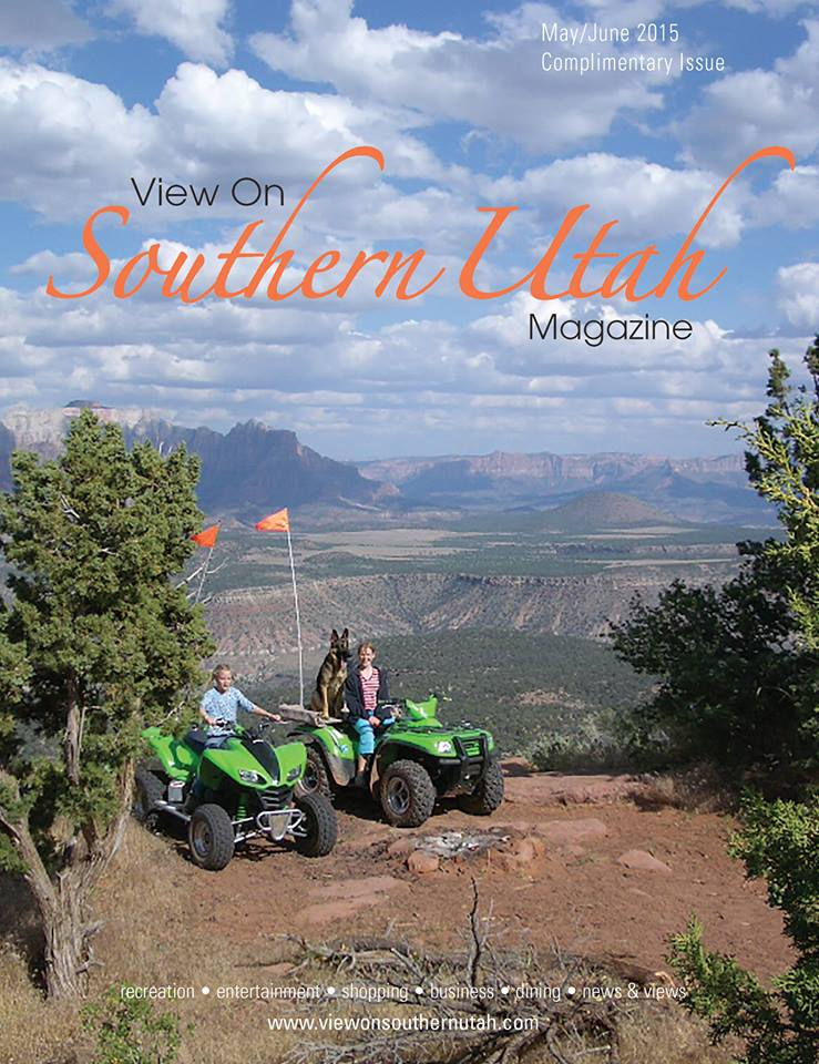 Our first piece of media coverage – Thank you View on Southern Utah