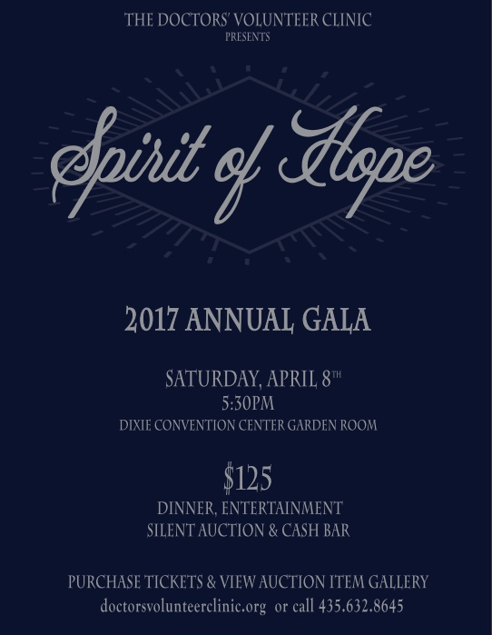 Doctor's Volunteer Clinic – 2017 Spirit of Hope Gala