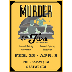 Brigham's Playhouse - Murder for Two @ Brigham's Playhouse | Washington | Utah | United States