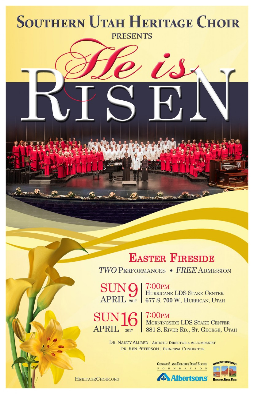 Southern Utah Heritage Choir – He is Risen