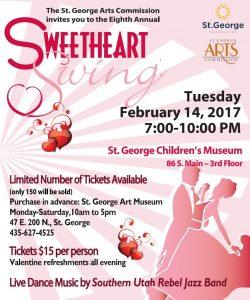 Sweetheart Swing @ Children's Museum - 3rd Floor | St. George | Utah | United States