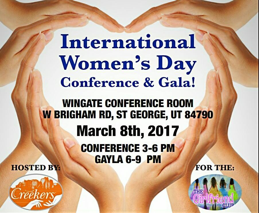 Creekers Foundation – International Women's Day Conference and Gala