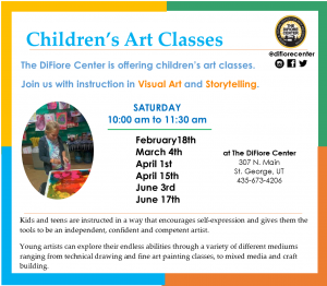 Difiore Center - Children's Art & Literature Class @ The Difiore Center | St. George | Utah | United States
