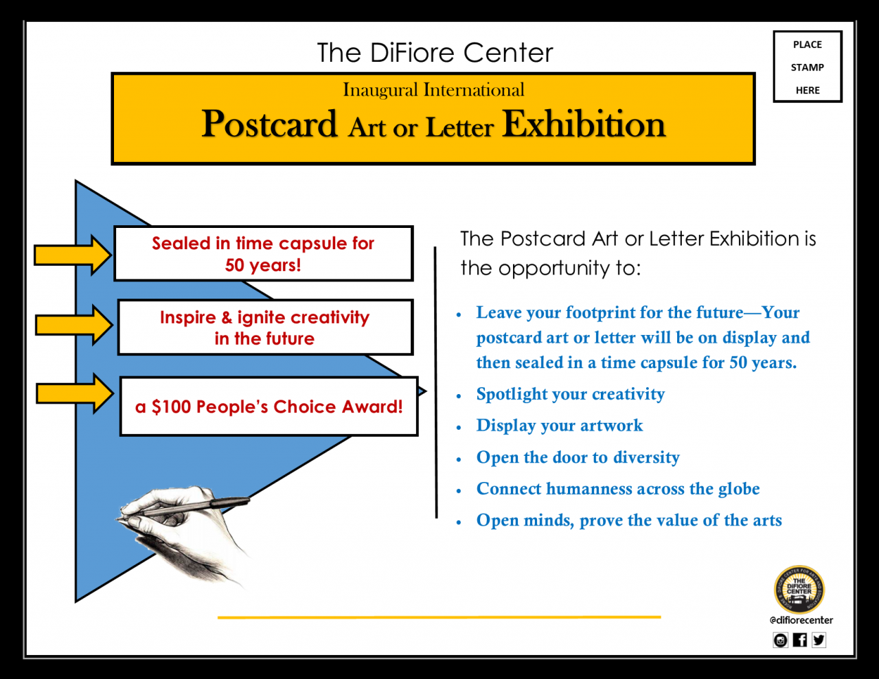Inaugural International Postcard Art or Letter Exhibition – Submission Deadline