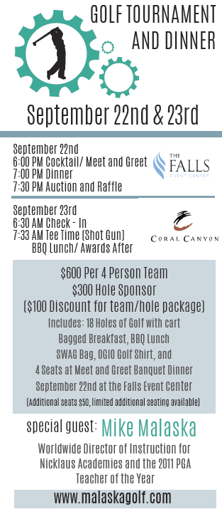 Alzheimer's and Dementia Society Golf Tournament and Dinner Fundraiser